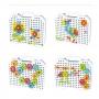 Maleta Puzzle Toy Magic Plate (Construção Criativa) - 151 peças
