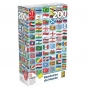 Quebra cabeça Bandeiras do Mundo - 200 peças