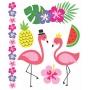 Tatuagem Temporária Flamingos