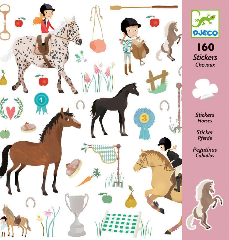 Adesivos Cavalos - Djeco