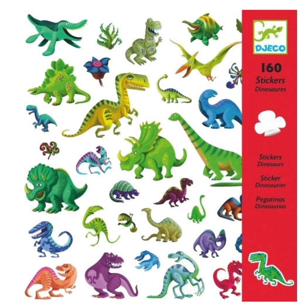 Adesivos Dinossauros - Djeco