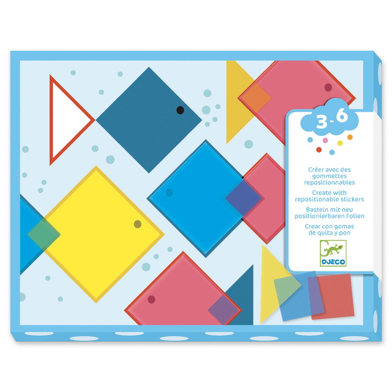 Kit Adesivos Reposicionáveis - Quadrados Mágicos