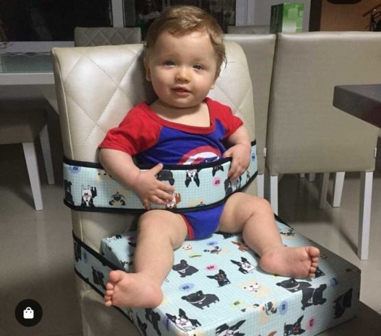 Agarradini - Faixa para cadeirão para bebês