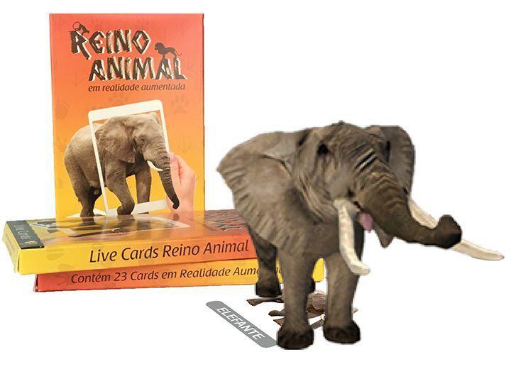 Alfabeto Reino Animal - Cards em Realidade Aumentada