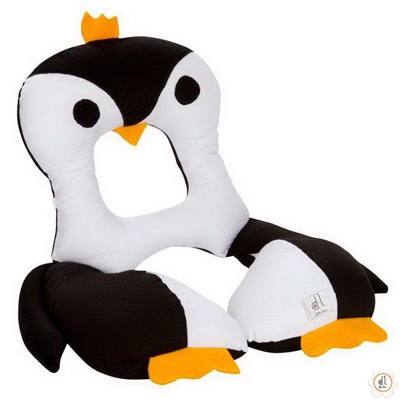 Almofada para pescoço infantil Pinguim