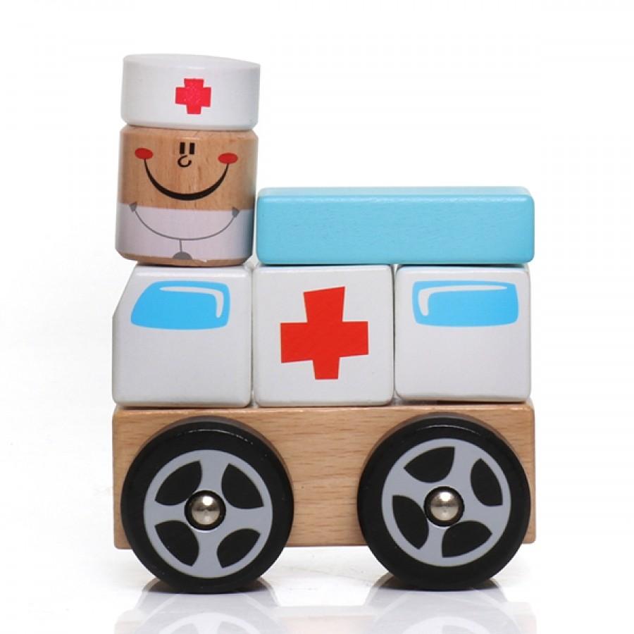 Ambulância em Blocos