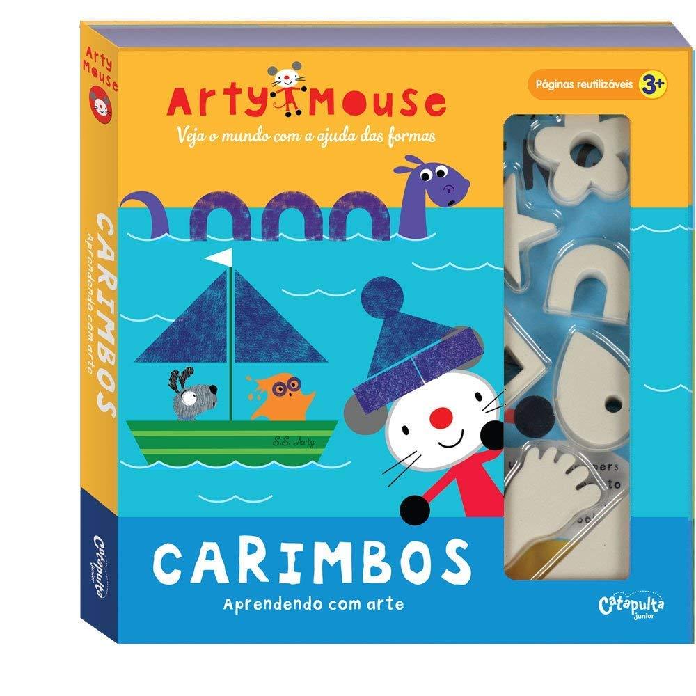 Arty Mouse - Carimbos Aprendendo com Arte