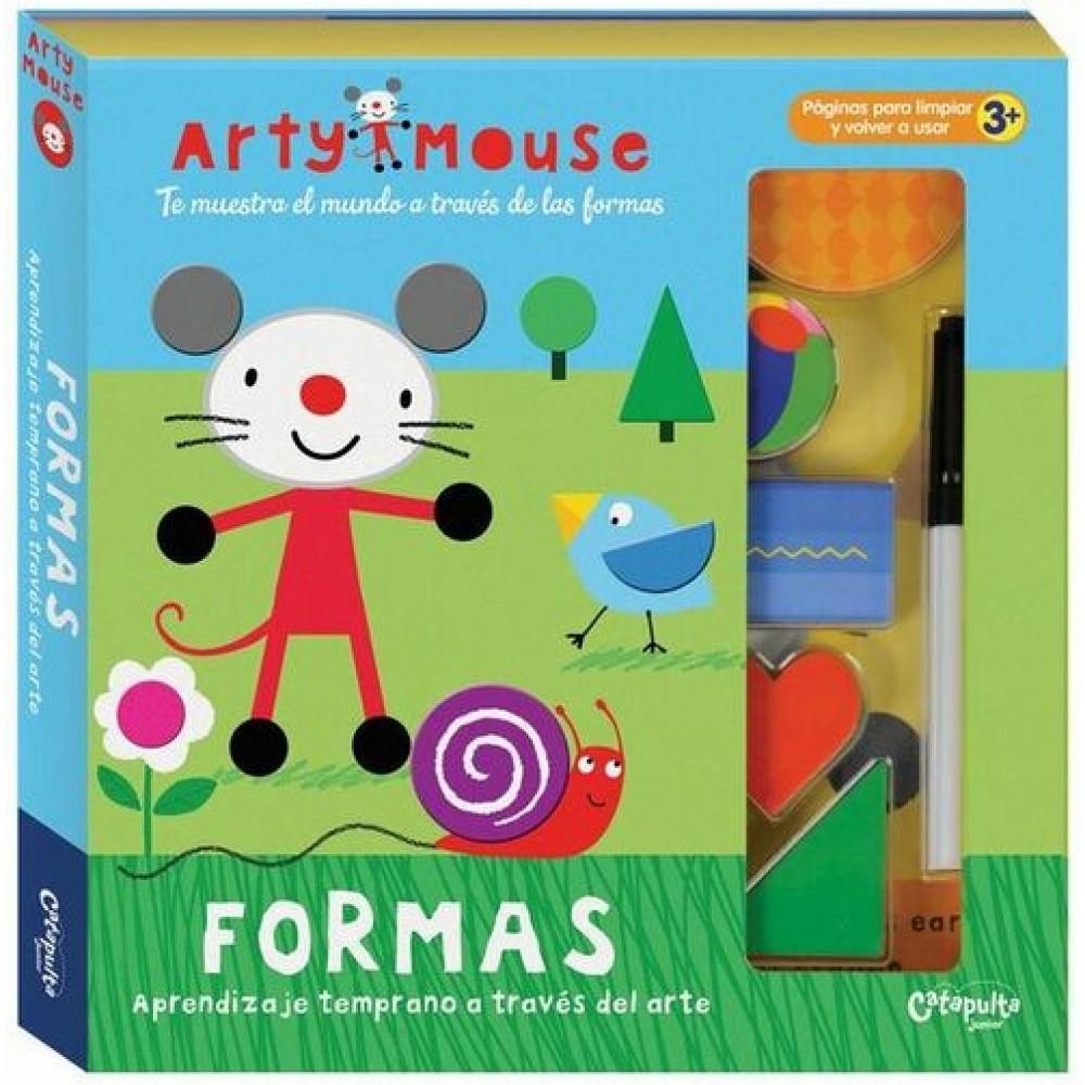 Arty Mouse - Formas Aprendendo com Arte
