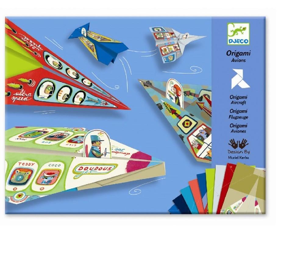 Atividade de Origami Dobradura - Aviões