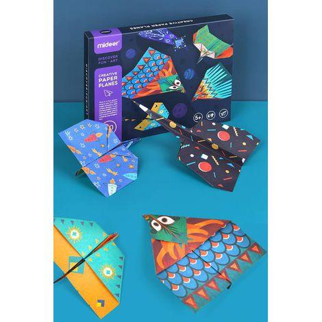 Origami Aviões Criativos de Papel