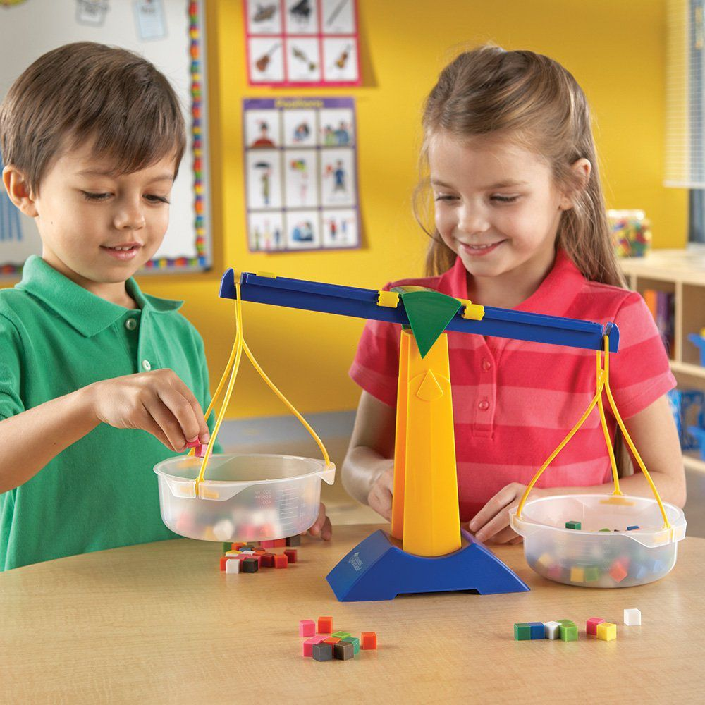 Balança Infantil de 2 pratos - Learning Resources@