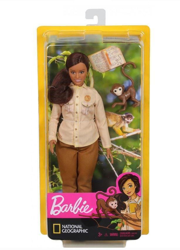 Barbie Nat Geo Conservacionista Vida Selvagem