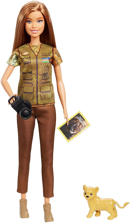 Barbie Nat Geo Fotógrafa da Vida Selvagem