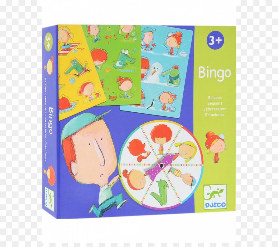 Bingo 4 Estações - Djeco