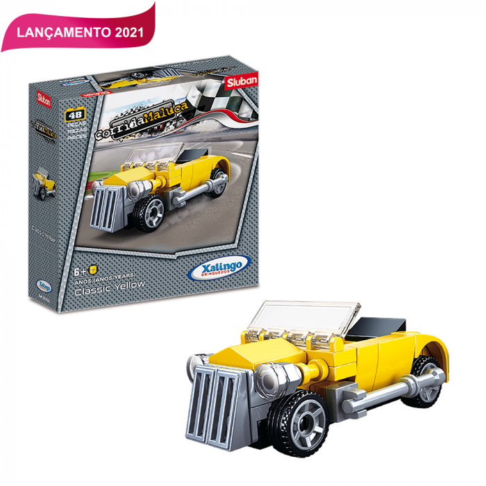Blocos Corrida Maluca - Classic Yellow