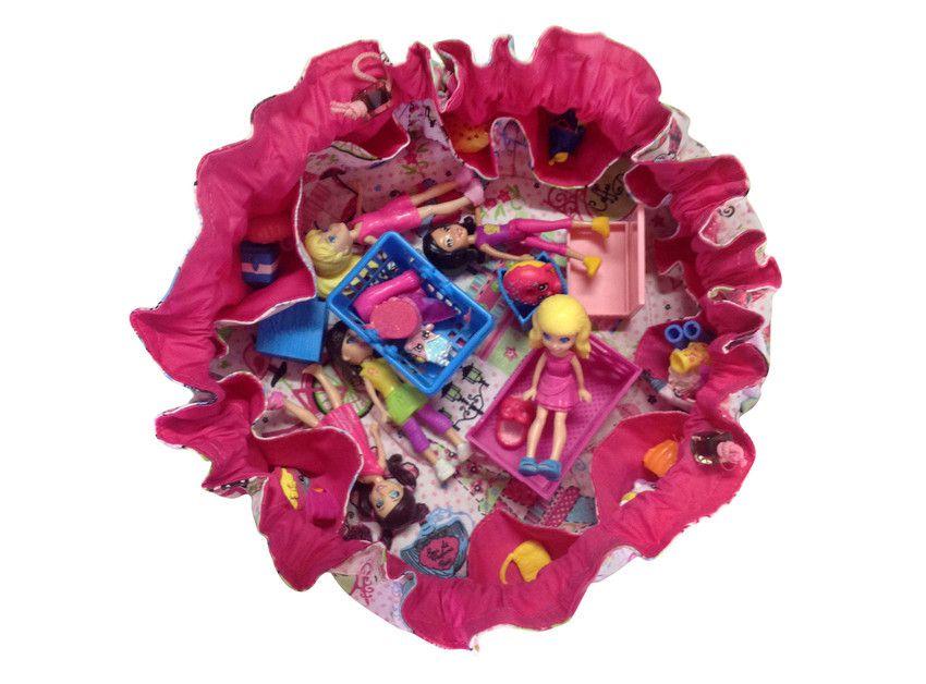 Bolsinha Organizadora para Brinquedos