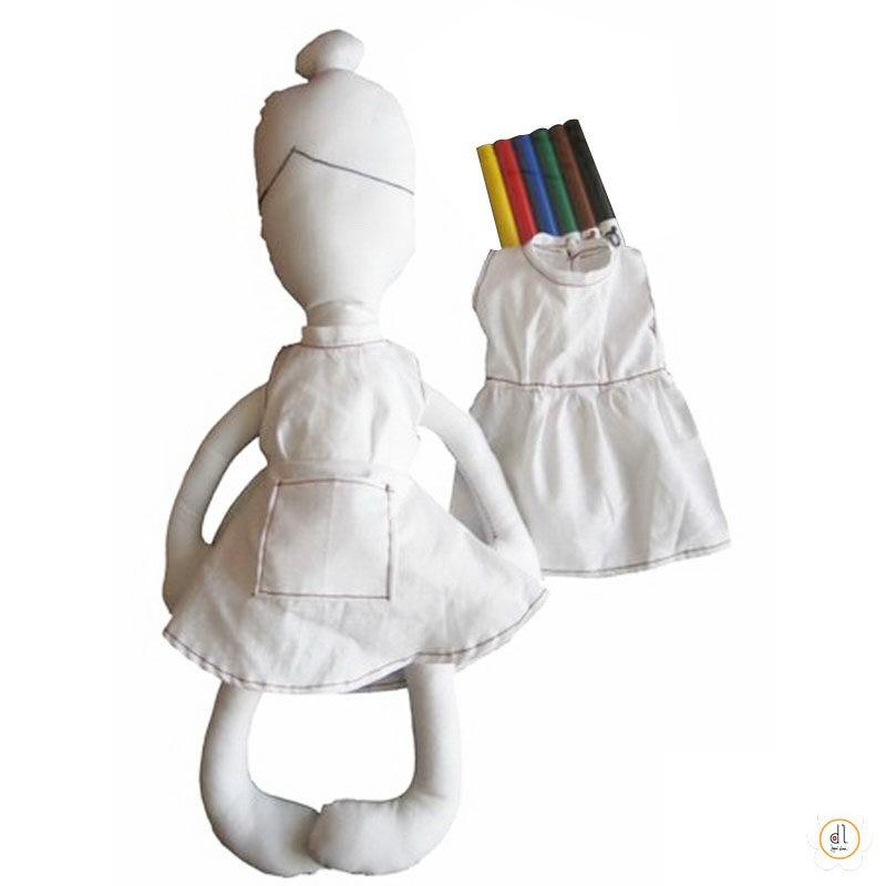 Boneco de Pintar Bailarina