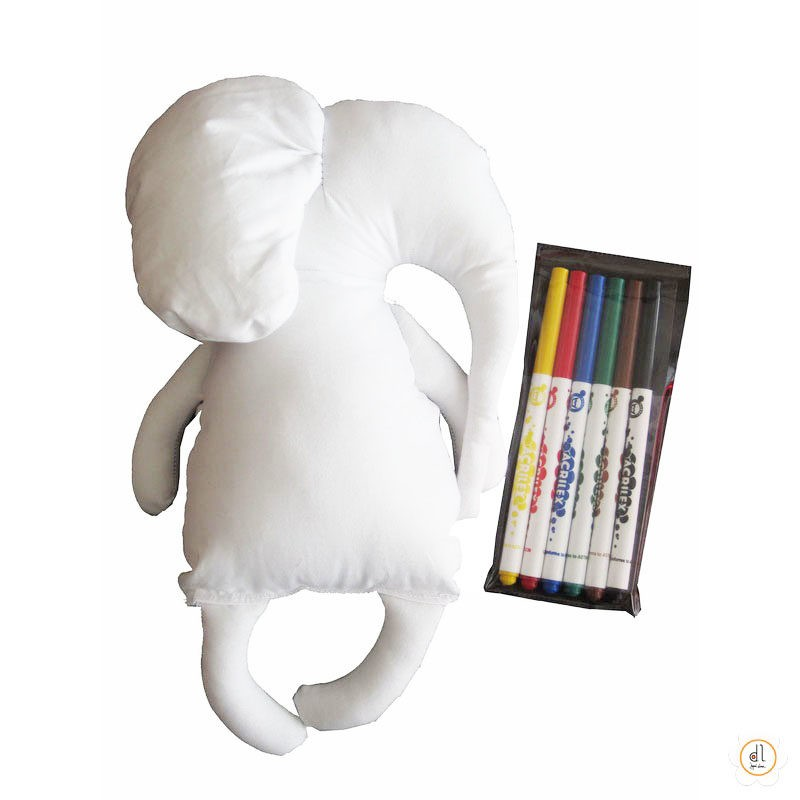 Boneco de Pintar Elefante