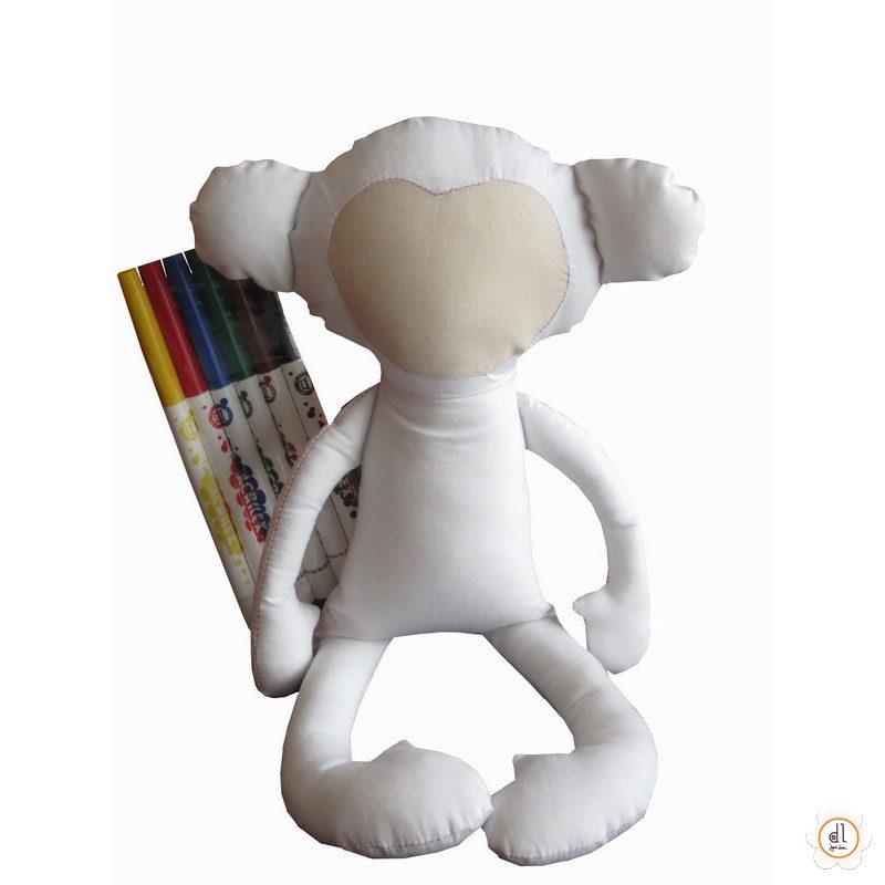 Boneco de Pintar Macaco