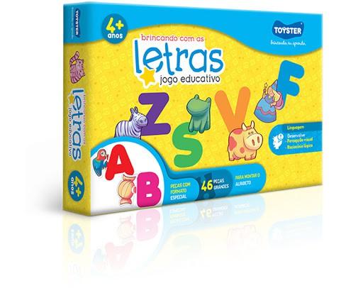 Brincando com as letras - kit educativo