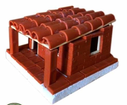 Brinky Tijolinho - Construção em miniatura