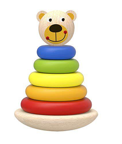 Brinquedo Educativo Empilhador de Urso - Tooky Toy