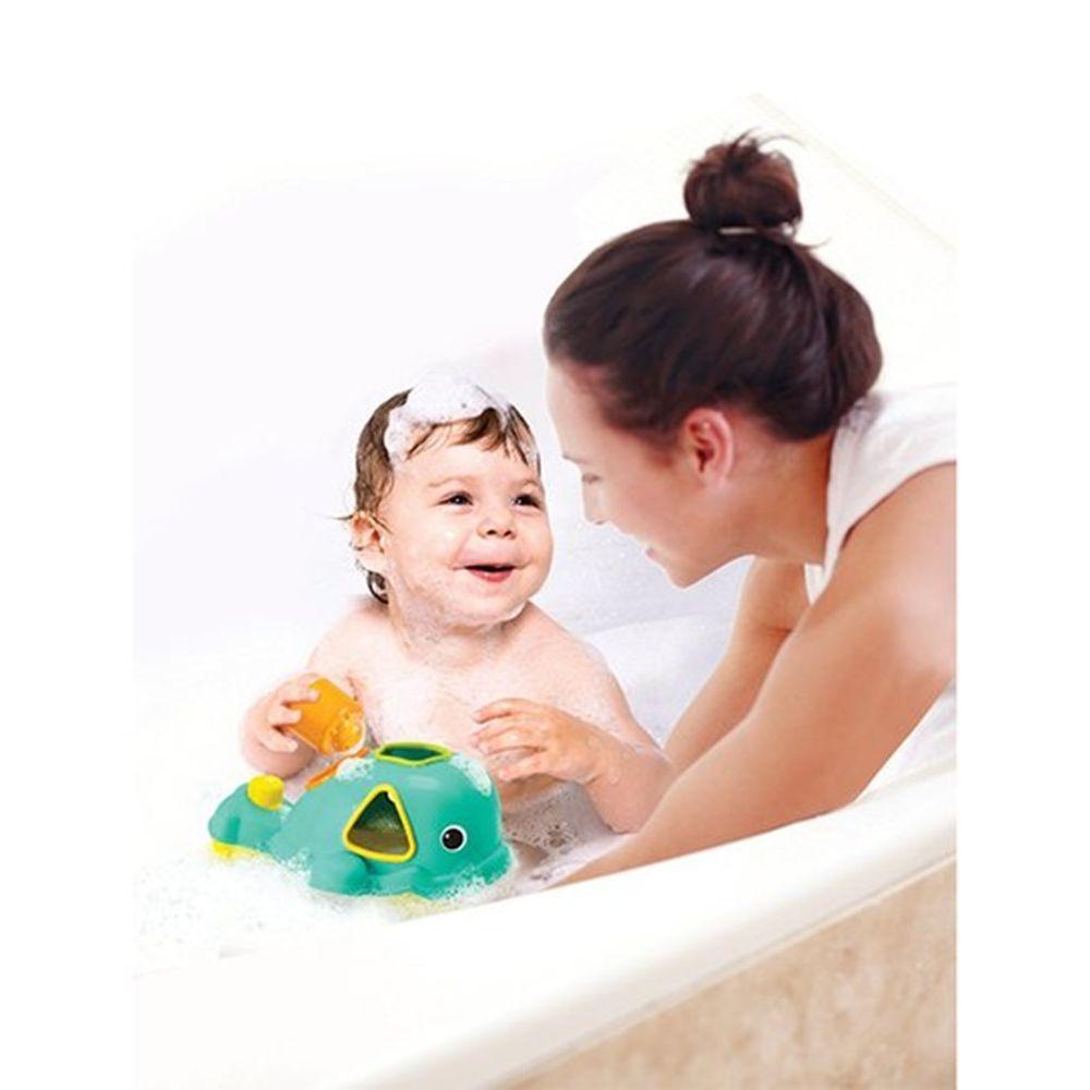 Brinquedo Interativo de Banho Encaixe Baleia