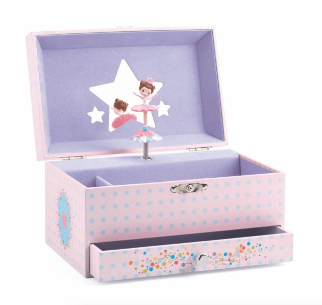 Caixa de Música Francesa Bailarina - Djeco