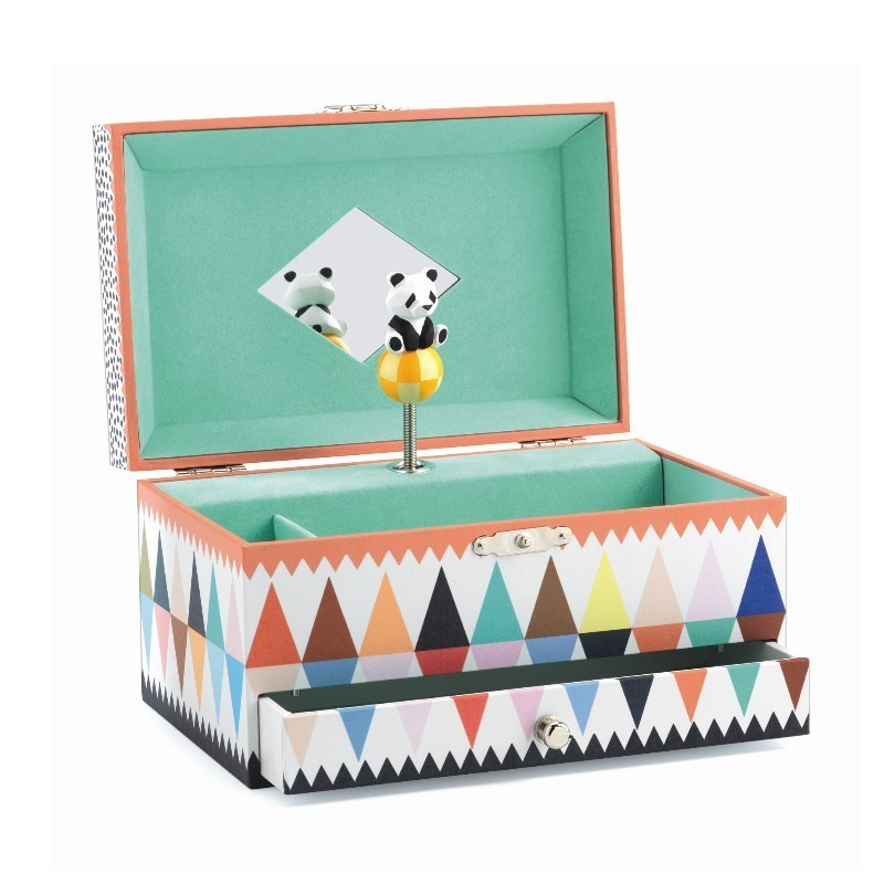 Caixa de Música Francesa Panda - Djeco