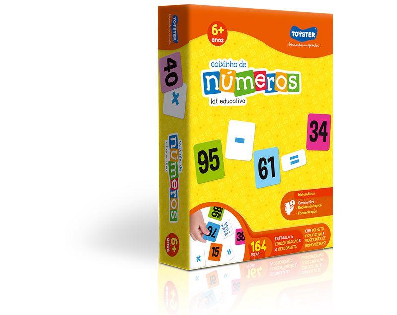 Caixinha de Números - kit educativo
