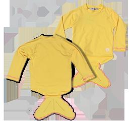 Camiseta manga longa com Proteção UV - Sereia