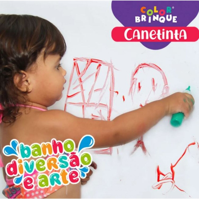 Canetinha - Tinta para desenhar no banho a base de sabonete líquido