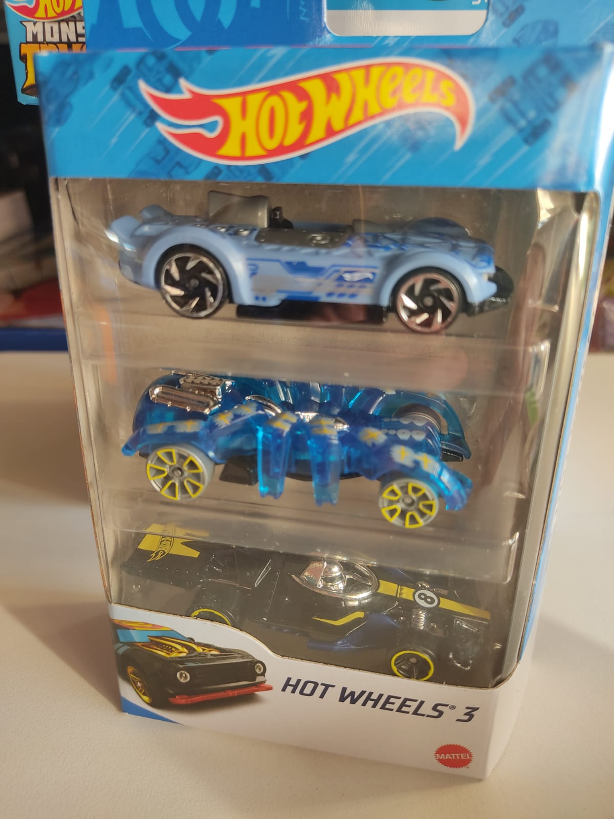 Carros Hot Wheels - Pacote 3 modelos