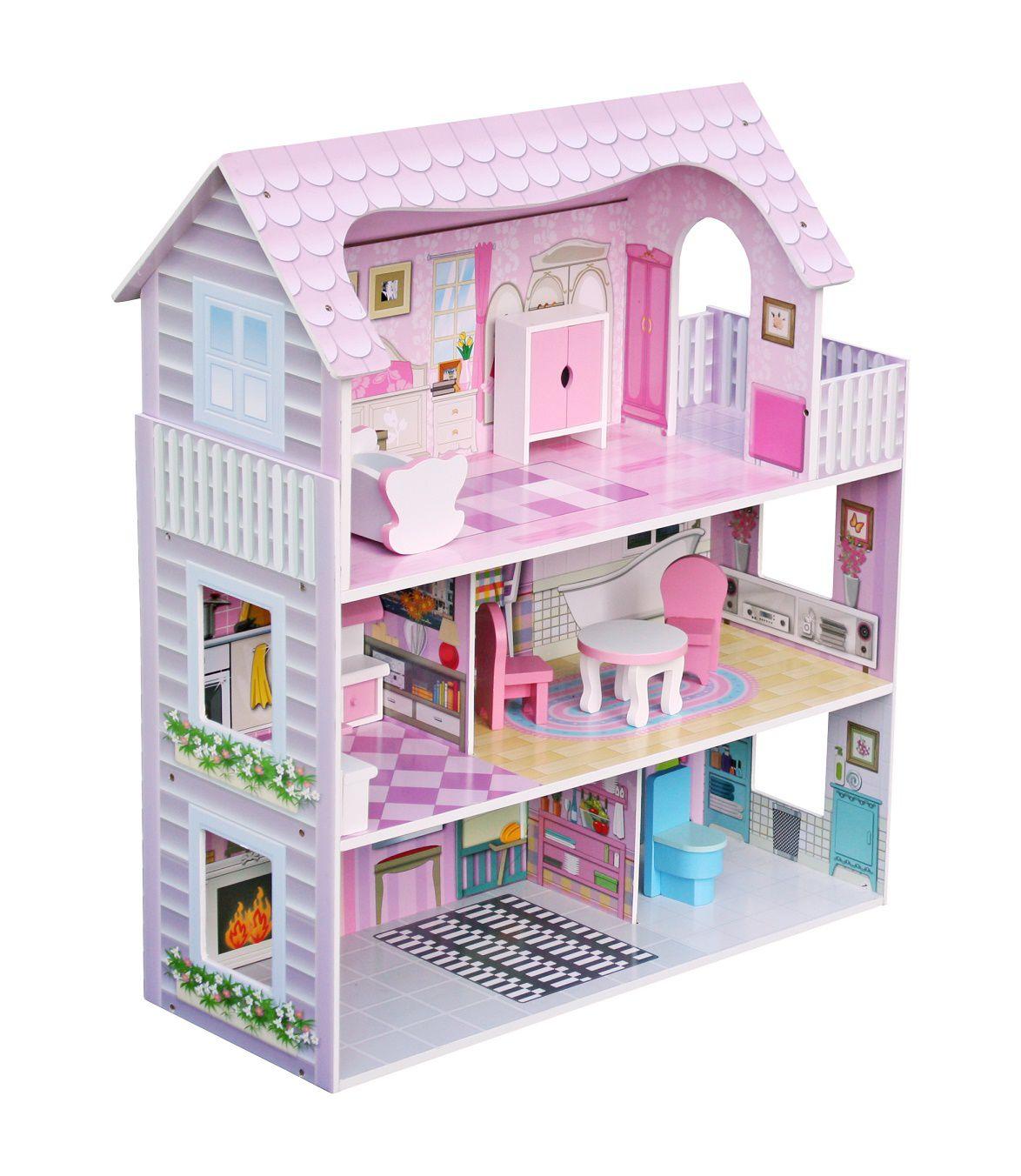 Casa de Bonecas Modelo Americana