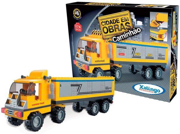 Cidade em Obras -  Caminhão 174 peças