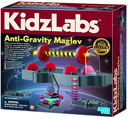 Ciência da Levitação (Kit Magnético Anti gravidade) - 4M