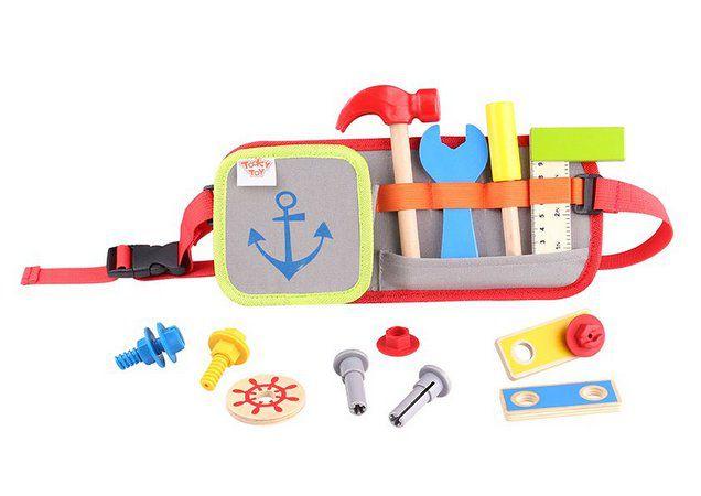 Cinto com ferramentas  -Tooky Toy