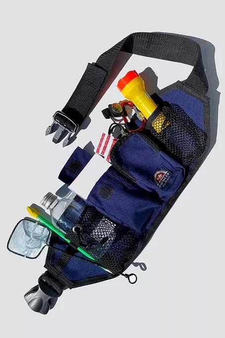 Cinto Explorador com Acessórios Azul