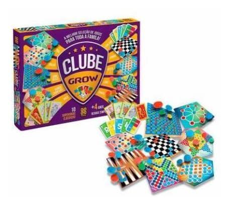 Clube grow - Coletânea 10 jogos clássicos