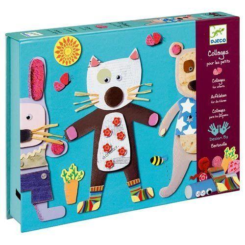 Colagem Criativa Para os pequenos - Djeco (caixa premium)