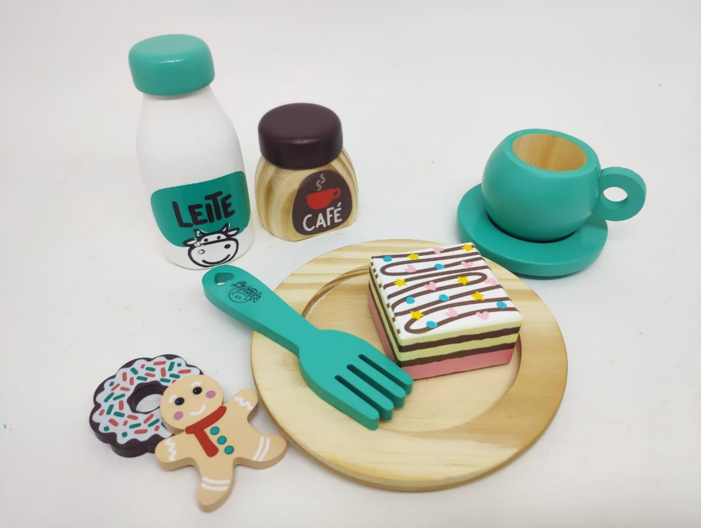 Coleção Comidinhas -  Kit Café