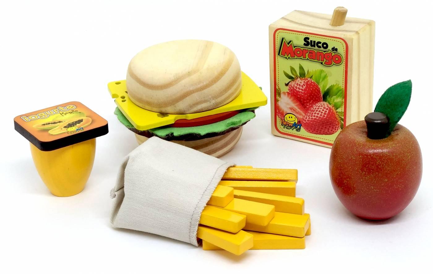Coleção Comidinhas - Kit Sanduiche