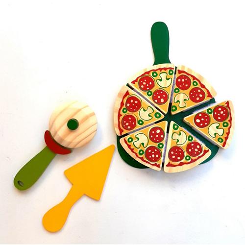 Coleção Comidinhas  - Pizza com corte