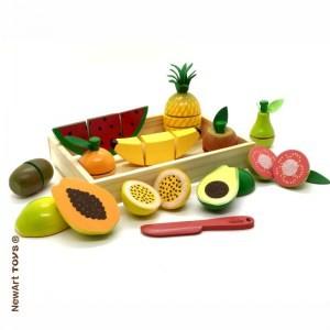 Coleção Comidinhas - Super kit Frutas com corte