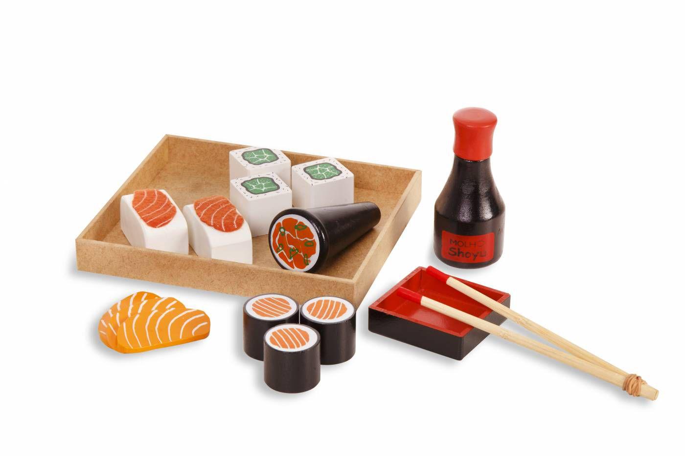 Coleção Comidinhas - Kit Sushi