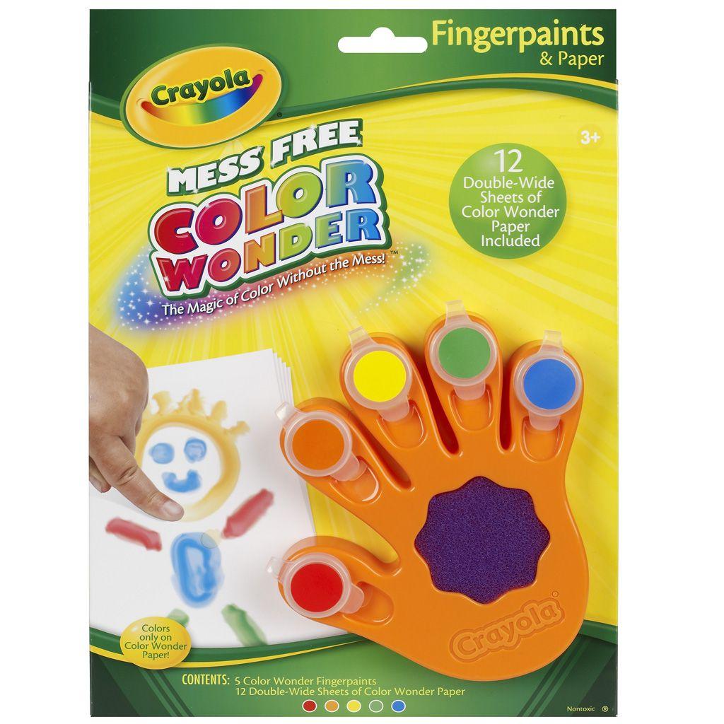 Color Wonder Pintura a dedo - Pintando sem sujeira