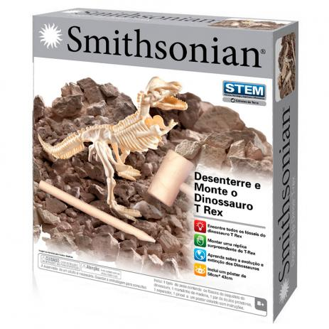 Conjunto de Escavação - Desenterre e Monte o T-Rex - Smithsonian