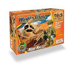 Conjunto Militar Mighty World - Major Mac