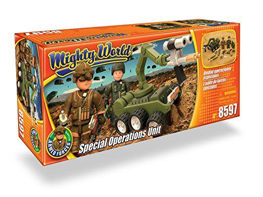 Conjunto Militar MIghty World - Unidade de Operações Especiais