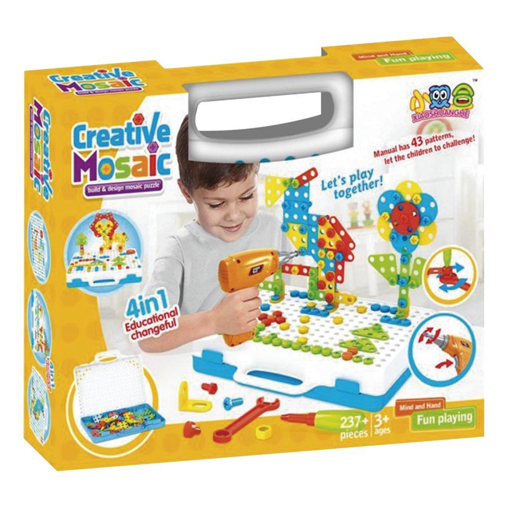 Construção Criativa ( Creative Mosaic)- 237 peças